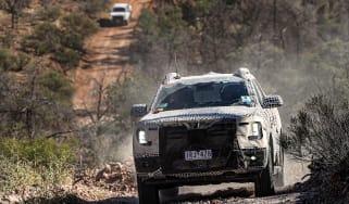 Ford Ranger testing