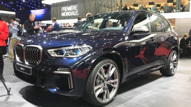 BMW X5 - Paris front