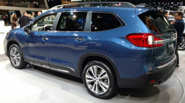 New Subaru Ascent SUV - rear