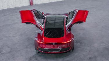 Fisker EMotion - rear doors open