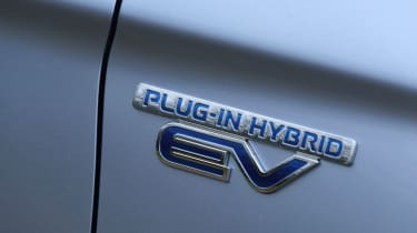 Mitsubishi Outlander PHEV 2014 badge