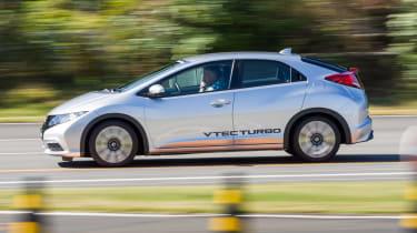 Honda Civic VTEC Turbo engines side