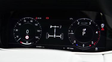 Range Rover Evoque - dials