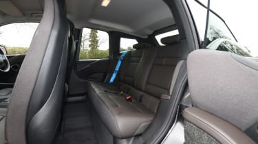 BMW i3s in-depth review - back seats