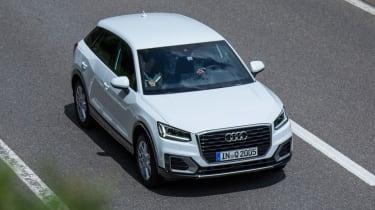Audi Q2 1.0 TFSI - overhead tracking