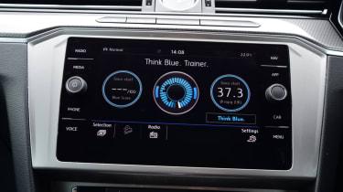 Volkswagen Passat Alltrack - console