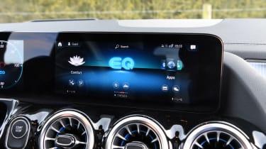 Mercedes EQA 250 - infotainment