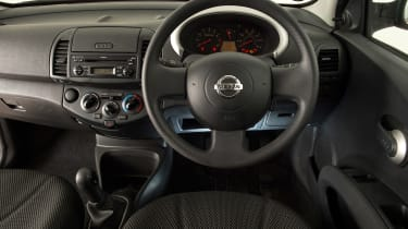 Used Nissan Micra - dash