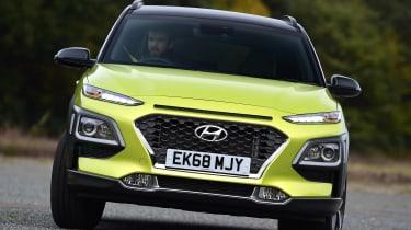 Hyundai Kona Diesel - front cornering