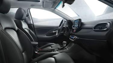 Hyundai i30 tourer cabin