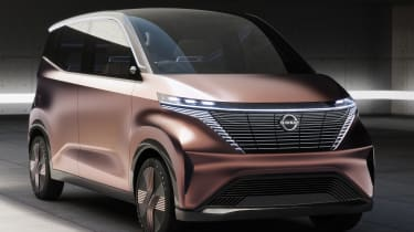 Nissan IMk concept - front 3/4 static