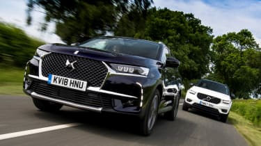 DS 7 Crossback vs Volvo XC40 - head-to-head