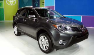 New Toyota RAV4 front