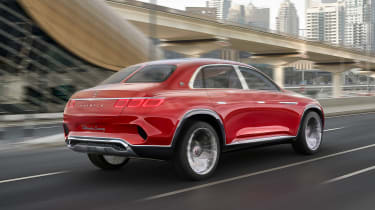 Vision Mercedes-Maybach SUV - rear