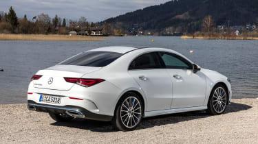 Mercedes CLA - rear static