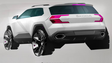 Skoda Karoq drawn 2