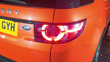 Land Rover Discovery Sport long-term - fifth report rear light