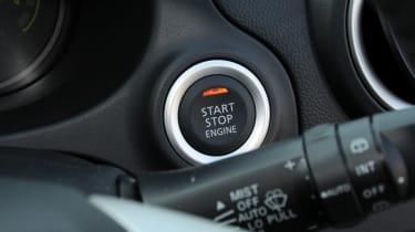 Mitsubishi Mirage 1.2 3 start button