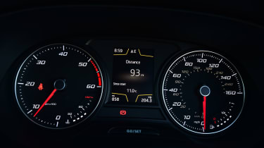 Long-term test review: SEAT Ateca - instruments