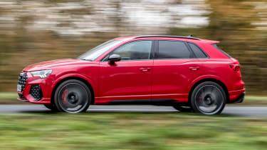 Audi RS Q3 - side tracking