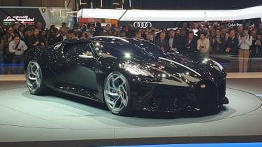 Bugatti La Voiture Noire - Geneva front