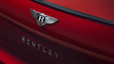 Bentley Flying Spur V8 - rear badge