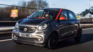 Used Smart ForFour - front tracking