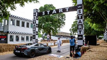 McLaren 600LT - start line