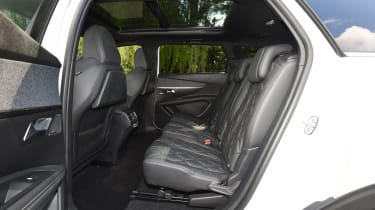 Peugeot 5008 long-term test - back seats