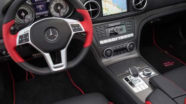 Mercedes SL Mille Miglia 417 - interior