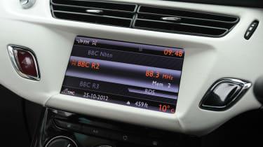 Citroen DS3 interior screen