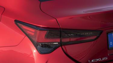 Lexus RC rear light