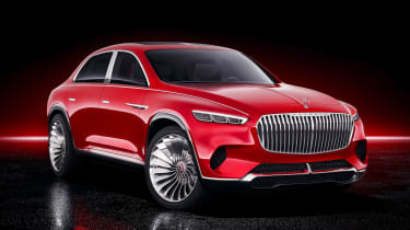 Vision Mercedes-Maybach SUV - studio front static