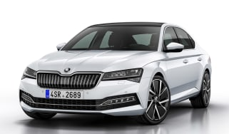 Skoda Superb iV - front