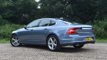 Volvo S90 long term test first report - rear
