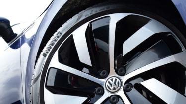 Twin test - VW Arteon - wheel