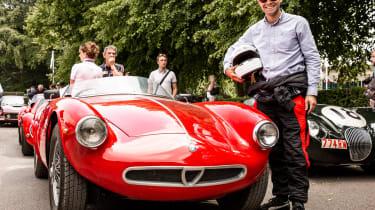 Alfa Romeo 1900 Sport Spider goodwood
