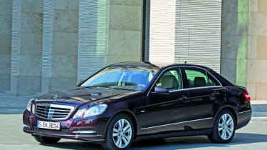 Mercedes E350 BlueDIRECT front