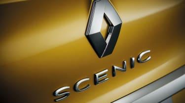 Renault Scenic - badge detail