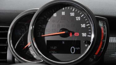 mini cooper classic 5-door dials