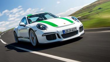 Porsche 911 R - front