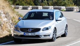 Volvo V60 D4 front tracking