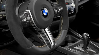 BMW M Performance Parts M2 steering wheel
