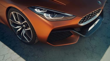BMW Concept Z4 leaked - front detail