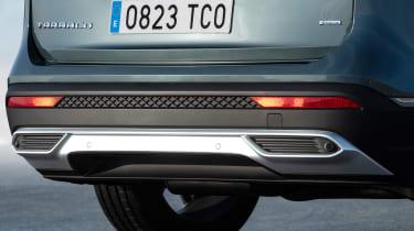 seat tarraco rear detail