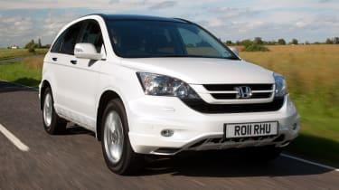 Honda CR-V front tracking
