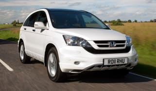 Honda CR-V front tracking
