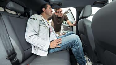 Volkswagen I.D. prototype - rear seats