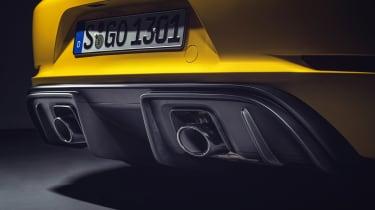 Porsche 718 Cayman GT4 - exhausts