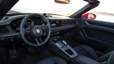 New Porsche 911 Cabriolet 2019 cabin